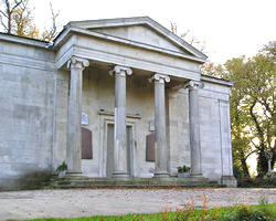 York Cemetery chapel, by James Piggott Pritchett