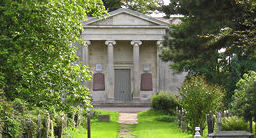 Cemetery chapel - available to hire for events