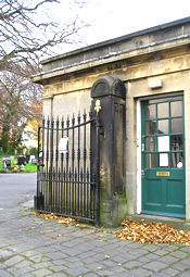 York Cemetery gates