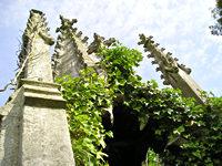 Gothic monument, York cemetery