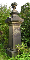 Monument at York Cemetery