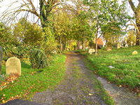 York Cemetery view, autumn